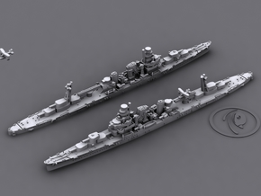 1/1800 IJN CA Kako[1935] in White Strong & Flexible