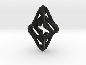 HEART TO HEART Symbiosis , Pendant in Black Natural Versatile Plastic