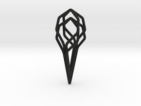 A-LINE Honeyunion, Pendant. Pure Elegance in Black Natural Versatile Plastic