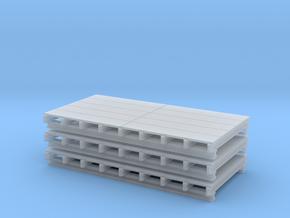 1:50 Schalungstisch Set 2.5 x 4.5 in Smooth Fine Detail Plastic