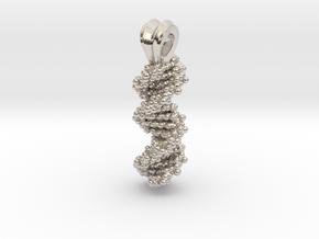 DNA Pendant in Platinum