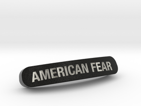 AMERICAN FEAR Nameplate for SteelSeries Rival in Full Color Sandstone