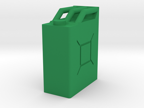 WWII Jerry Can 1:35 Scale in Green Processed Versatile Plastic