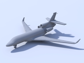 1:500 - Dassault_Falcon_7X [Sprue] in Smooth Fine Detail Plastic