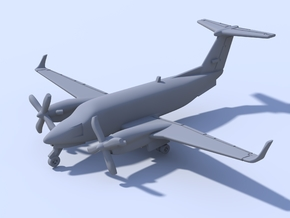 1:500 - KingAir_350 [Assembled] in Smooth Fine Detail Plastic