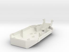 Air_Freshener Back Cover in White Natural Versatile Plastic