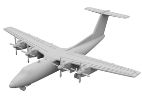 1:500 - DHC_7 [Sprue] in Frosted Ultra Detail