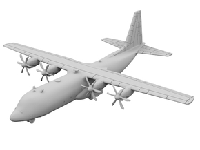 1:500 - C130J [Sprue] in Smooth Fine Detail Plastic