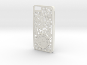 Steampunk Clock iPhone 6 Case in White Natural Versatile Plastic