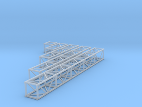 "1:24 12""x"" Box Truss Set in Smooth Fine Detail Plastic"
