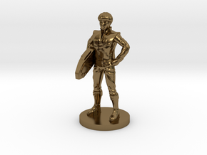 Daniel homage Space Boy 1.6inch Transformers Mini- in Polished Bronze