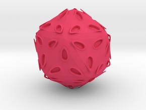 TentancleHedron in Pink Strong & Flexible Polished