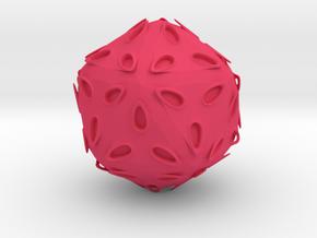 TentancleHedron in Pink Processed Versatile Plastic