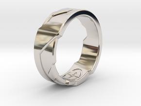 Ring Size N in Platinum