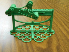 Crank Slider in Green Processed Versatile Plastic