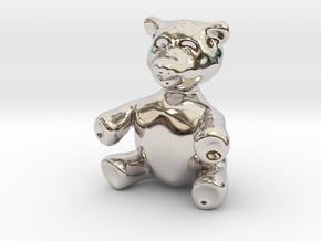 "BIG (3"") Teddy Bear! in Platinum"