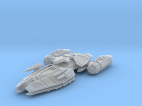 Raptor Class Battleship in Smooth Fine Detail Plastic