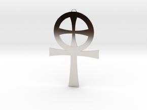 Large Gnostic Cross Pendant : Pectoral Cross in Platinum