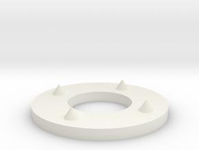 Soap Stop in White Natural Versatile Plastic