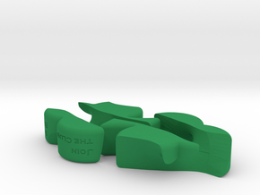 Join the Club in Green Processed Versatile Plastic