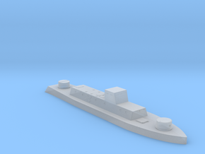 1/700th scale WW2 Hungarian armoured boat in Smooth Fine Detail Plastic
