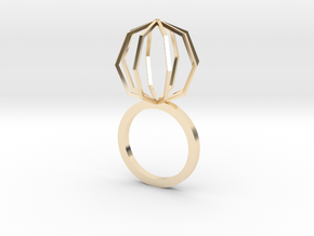 Ngon Ring size 9 in 14K Yellow Gold