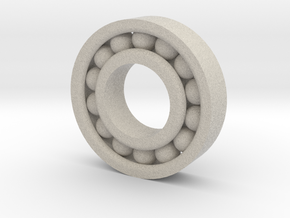Deep Groove Bearing in Natural Sandstone