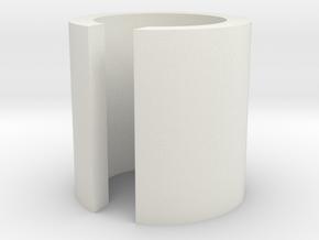 1/700 Landing Pad in White Natural Versatile Plastic