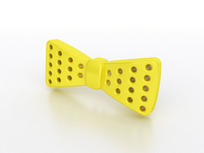 Dotie in Yellow Processed Versatile Plastic