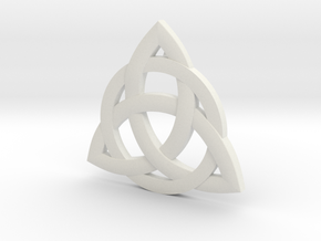 celtic pendant in White Natural Versatile Plastic