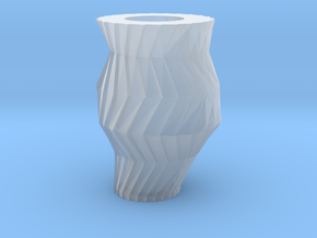 Gear Vase in Smooth Fine Detail Plastic