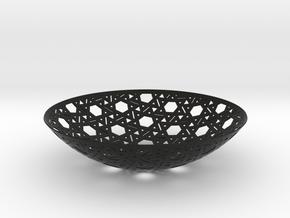 Yarmulke One in Black Natural Versatile Plastic
