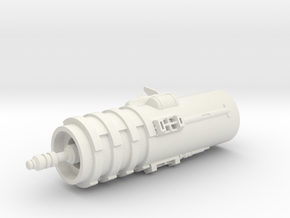 Scope Assembly in White Natural Versatile Plastic