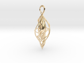 Spiral Seed 2 in 14K Yellow Gold