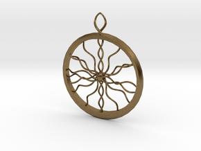 Weird Web in Natural Bronze