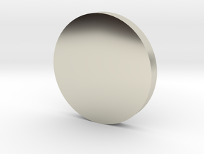 Coin in 14k White Gold