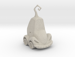 Car Jack in Natural Sandstone
