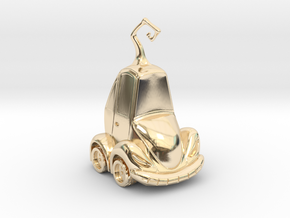 Car Jack in 14K Yellow Gold