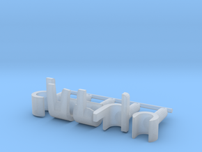 Custom lego compatible Hands set R in Smooth Fine Detail Plastic
