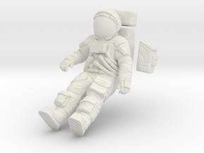 1:24 Apollo Astronaut /LRV(Lunar Roving Vehicle)  in White Natural Versatile Plastic