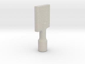 Gas Key in Natural Sandstone
