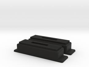 Valve covers for Sprint2 drift rod in Black Strong & Flexible