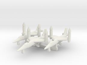 1/700 VJ101 C on the Ground x 3 in White Natural Versatile Plastic