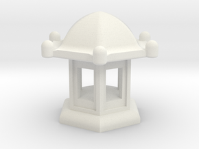Spirit House - Elegant in White Natural Versatile Plastic