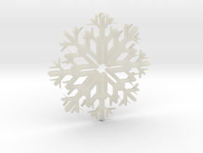SnowFlake Design in Transparent Acrylic