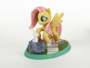 Mane Six #2 - Fluttershy in Full Color Sandstone