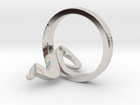 Kiekura, Size 8 (18.2 mm) in Platinum