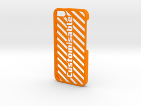 iPhone 5 Case - Customizable in Orange Processed Versatile Plastic