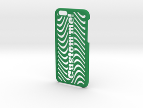 iPhone 6 Case - Customizable in Green Strong & Flexible Polished