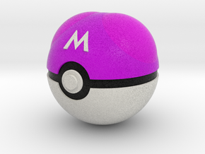 Master Ball Original Size (8cm in diameter) in Full Color Sandstone